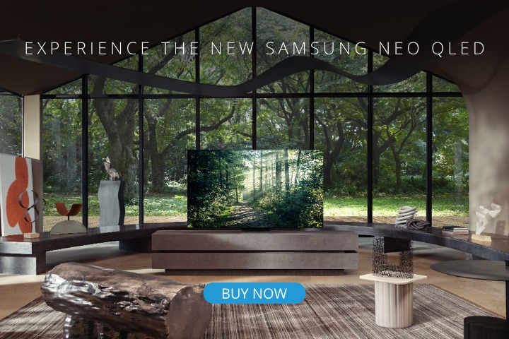 Samsung Neo QLED in Stock Now